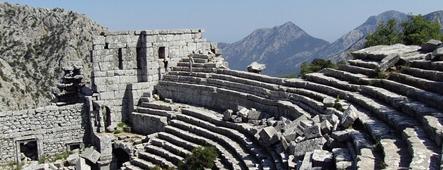 antalya termessos theater