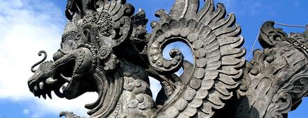 bali garuda statue
