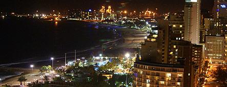 Durban bei Nacht