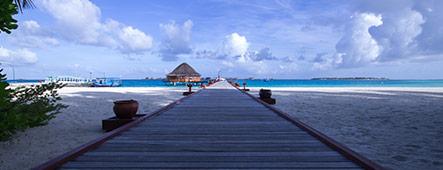 Indischer Ozean Strandhaus
