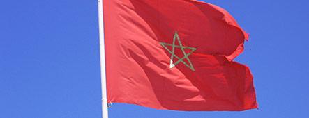 Marokko Flagge