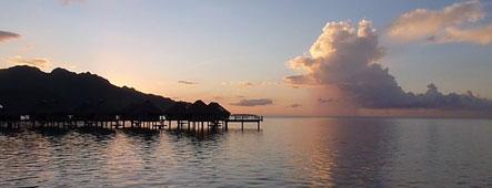Tahiti Sonnenuntergang